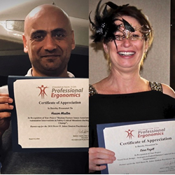 Runner-ups for 2018 Student Practitioner Award