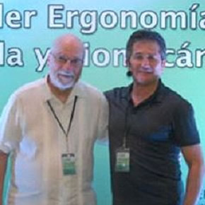 Dr. Tom Albin and Dr. Carlos Espejo Guasco at Training Course.